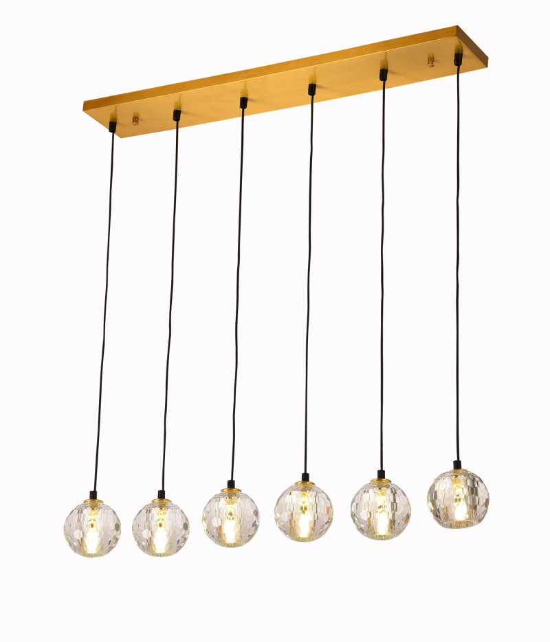 Simple Design Brass Pendant Lamp