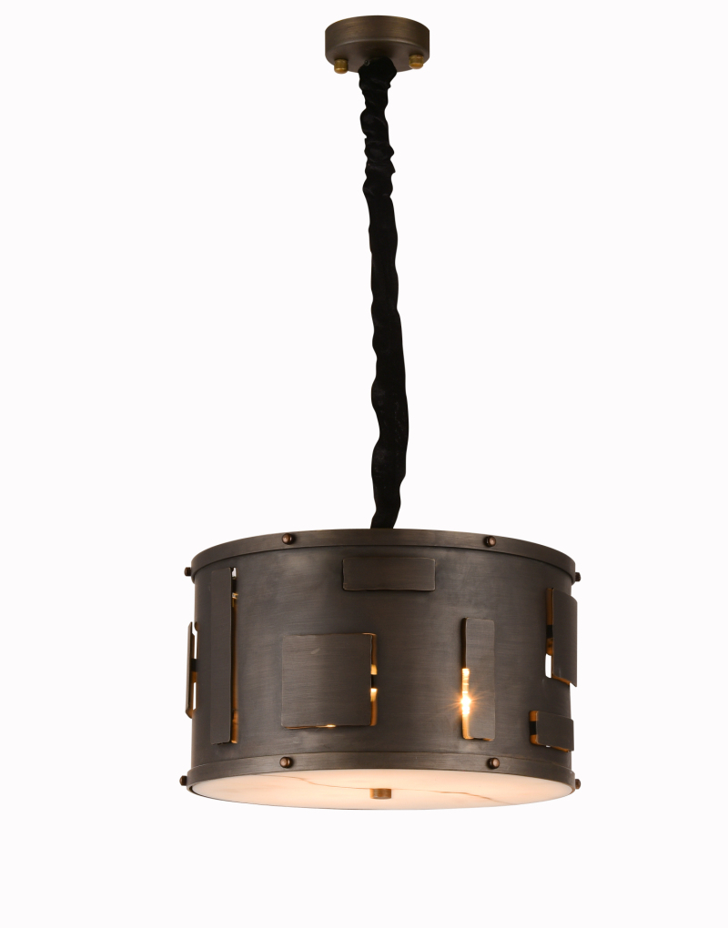 Drum Brass Pendant Lamp