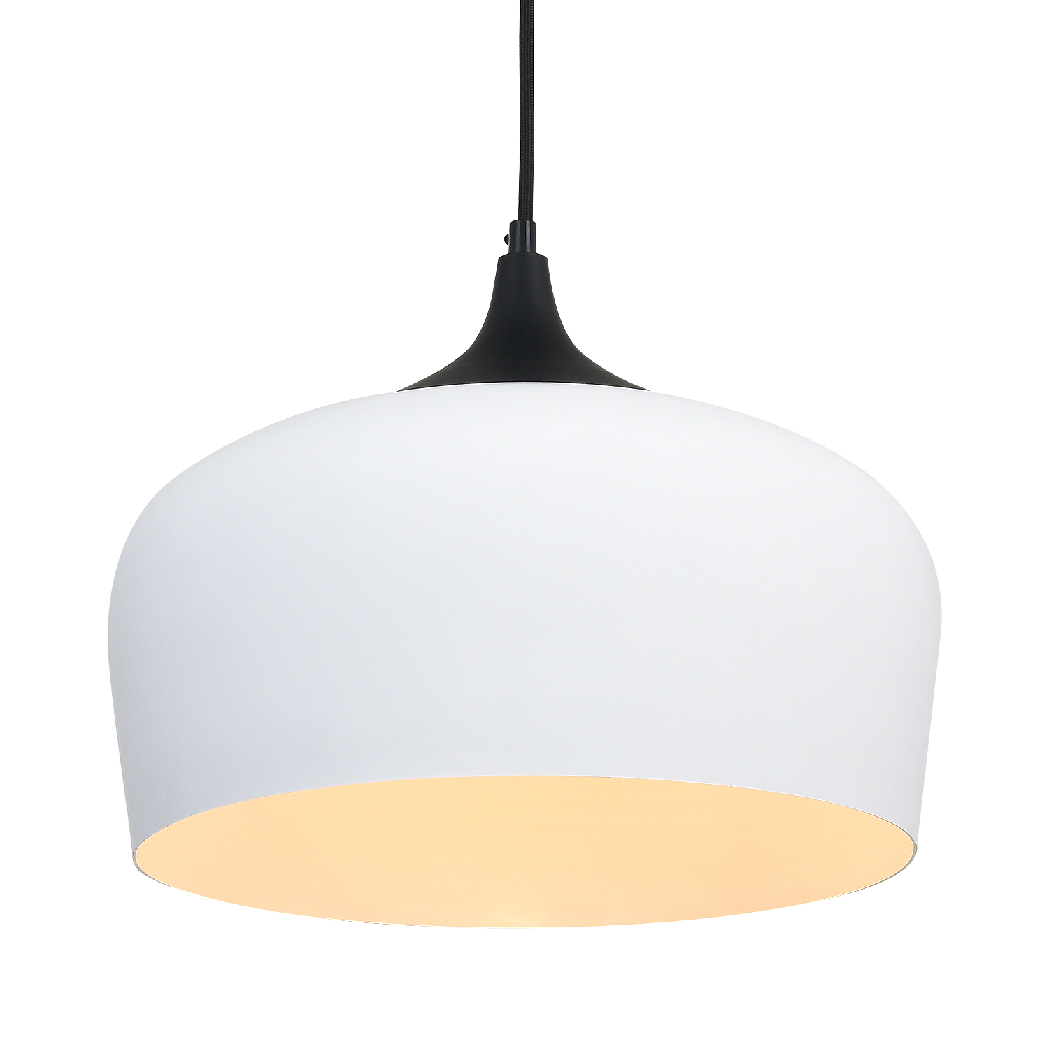[UPC 631145973685]  Briever Pendant Lamp, 1 Light Dome Hanging Pendant Light,Metal Ceiling Light for Dining Room, Kitchen, Living Room, Restaurant, Bar -with LED Bulb